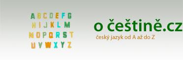 O češtině.cz - český jazyk od A do Z