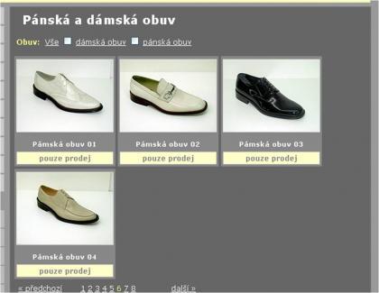 Prodáváme boty pro dámy i pámy......